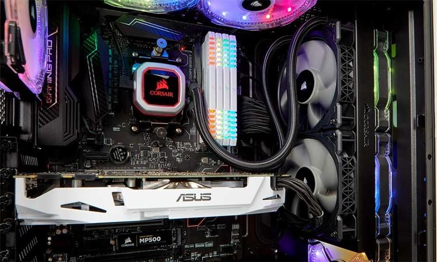 커세어 '하이드로 시리즈H100i PRO RGB 240mm 수냉CPU 쿨러