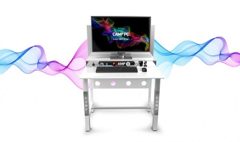 성공창업아이템 LED-Easy Pro Desk 선보인 캠프PC방