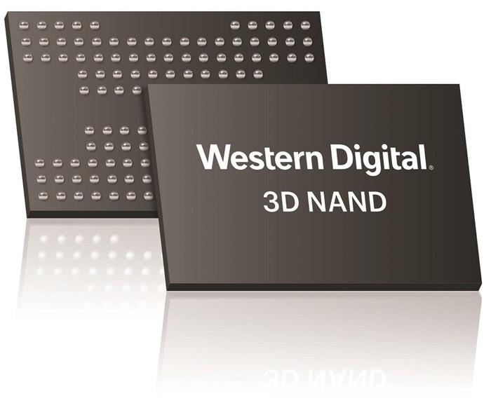 웨스턴디지털 '1.33 테라비트 96단 3D 낸드' 개발 성공