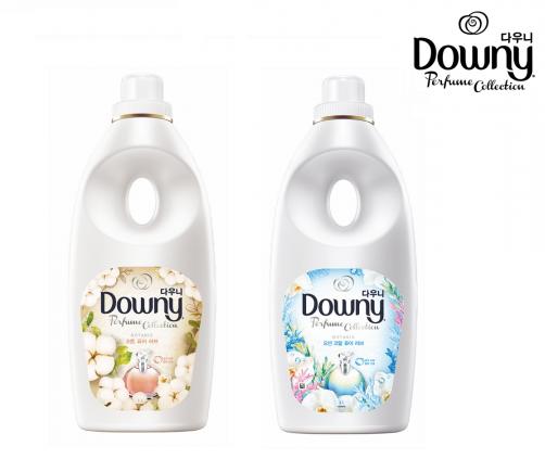 자연에서 영감을 받아 탄생한 '다우니 보타니스'는 다우니 제품 중 가장 부드러우면서도 오래 가는 향을 선보인다. (사진 왼쪽부터) 보타니스 코튼 퓨어 러브, 우측 보타니스 오션 코랄 퓨어 러브. 사진=한국피앤지 제공