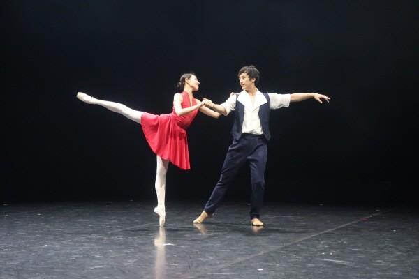 'KNB MOVEMET SERIES 4' 정영재 안무 'Love Story of the Pianist' 공연사진, 사진=국립발레단 제공