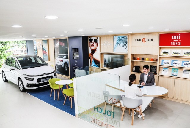 시트로엥, 고급스러운 '라메종 시트로엥' 콘셉트 전시장 첫 오픈