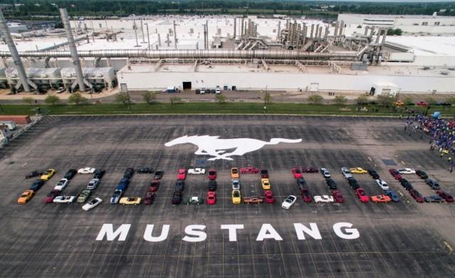 포드 머스탱, 생산 1000만 대 돌파했다