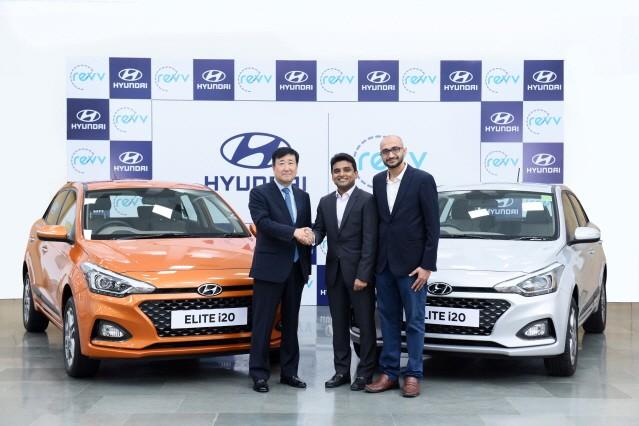 현대차, 인도 2위 차량 공유 업체 '레브(Revv)'에 전략 투자