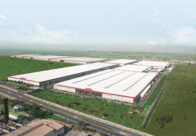 터키 마니사에 위치한 베스텔(Vestel) 생산기지 전경