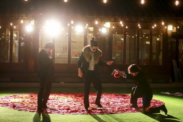 '사자.who(feat. 민악 솟대)' 공연사진, 사진=창무국제공연예술제 제공