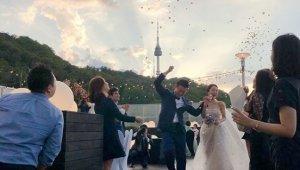 김엔젤라 결혼, 웨딩사진 공개 '신랑은 누구?'