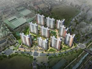 틈새면적 아파트 '청주 동남지구 우미린 풀하우스' 공급