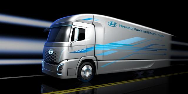 현대차, 수소전기트럭으로 유럽 진출한다