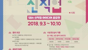 SBA, 청년 대상 '신직업 아이디어 공모전' 개최…내달 10일까지 접수, 총 300만원 상금 및 홍보기회 지원