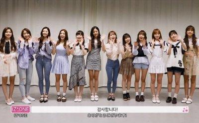 '프듀48' 아이즈원, 추석인사 영상 공개…'빈틈없이 꽉찬 미소녀들의 한가위 인사'