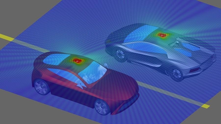 앤시스 19.2는 자동차 레이더 시뮬레이션 및 차량 간 커뮤니케이션과 같은 ADAS 기능을 크게 향상시킨다.