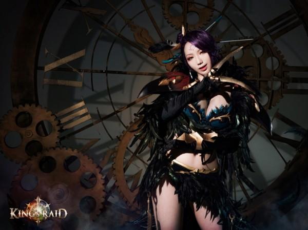 킹스레이드, '마리아' 코스프레 화보 공개
