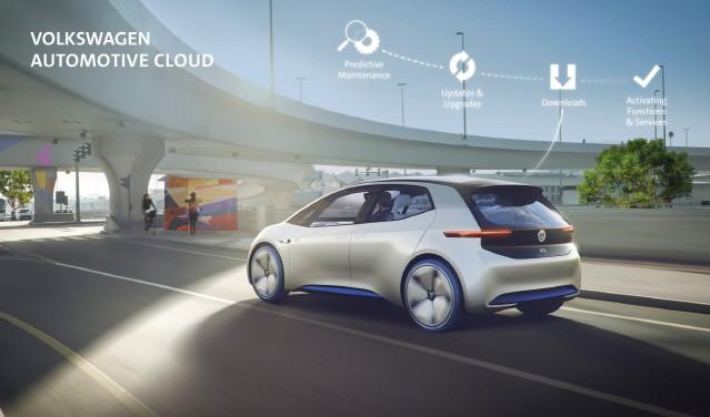 폭스바겐, 마이크로소프트와 손잡고 '디지털 서비스 가속화' 선언