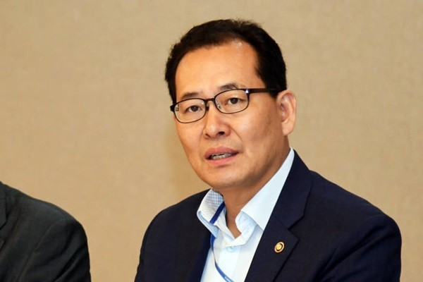 Vice-Minister Ko Hyung-kwon of Ministry of Economy and Finance