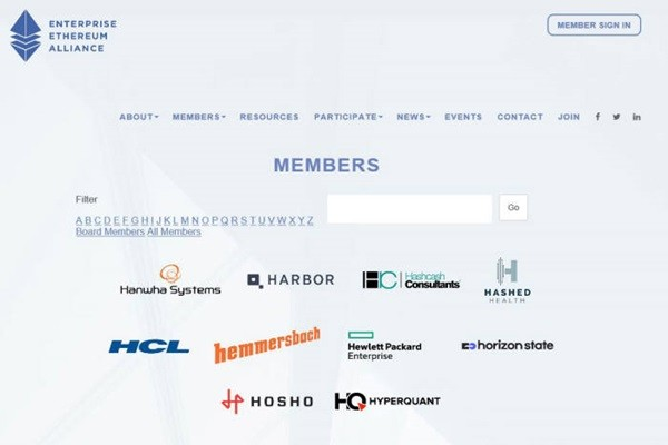 Hanwha Systems is listed as a member of EEA on EEA's official homepage.