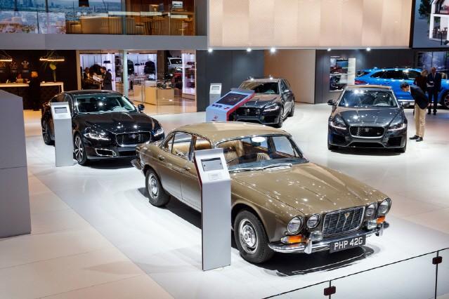 재규어, 파리모터쇼서 XJ '시리즈 1'과 스페셜 에디션 'XJ50' 전시