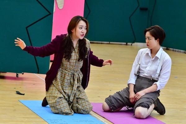 '헨젤과 그레텔' 연습사진. 사진=국립오페라단 제공