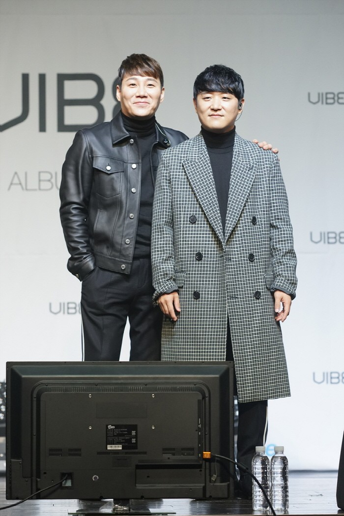 10일 서울 강남구 리버사이드호텔 콘서트홀에서는 바이브의 정규 8집 'About Me(어바웃 미)' 쇼케이스가 개최됐다. (사진=박동선 기자)