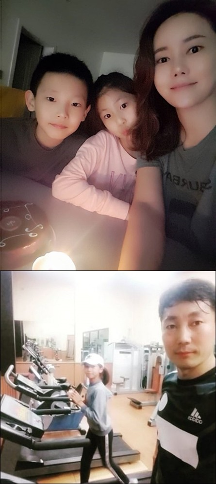사진=박잎선, 송종국 SNS