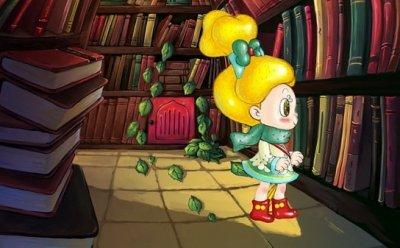 [ET-ENT 영화] 부천국제애니메이션페스티벌(2) '도서관 속의 빨간 문' 그림책 스타일의 애니메이션