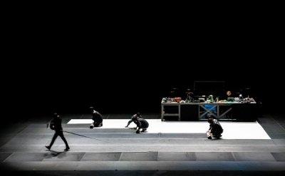 [ET-ENT 무용] '쓰리 볼레로'(2) 김설진 안무가 '볼레로 만들기' 볼레로의 구조에 접근하다