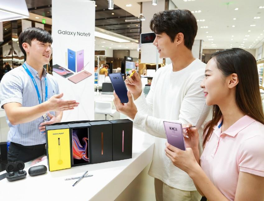 삼성전자, 갤럭시 노트9 구매 시 기존 폰 반납하면 '최대 2배 보상'