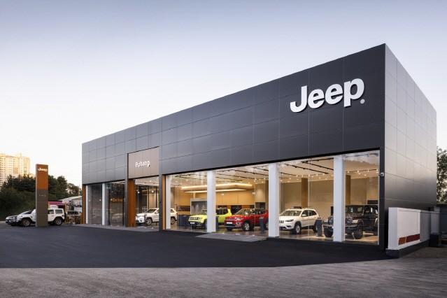 지프(jeep), 포항 전용 전시장 오픈