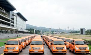 한국마사회 '국민드림마차' 차량 전달식 개최