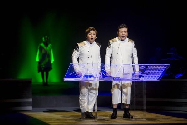 '우주소리' 공연사진. 사진=국립극장 제공