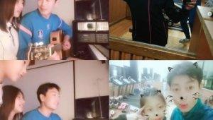 송종국, 딸 아들과 함께 한 근황 '여전한 자식바보'