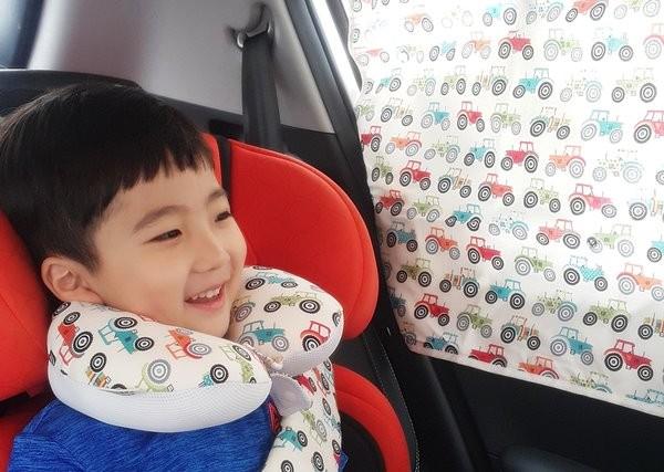 [42회 유교전] 잠자는 소잉율, 유아교육전에서 디자인 특허상품 '잠자는 목쿠션' 소개
