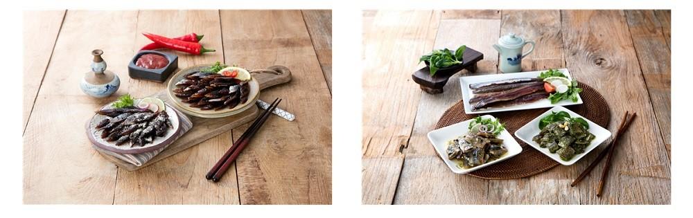 이번 행사에서 새로 개발된 다양한 과메기 요리