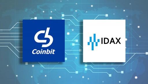 코인빗(Coinbit), 글로벌 거래소 IDAX 내 자체코인 DEX 상장완료