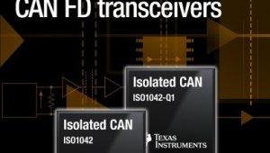 버스 결함 보호하는 최소형 강화 절연 'TI, CAN FD' 트랜시버 출시