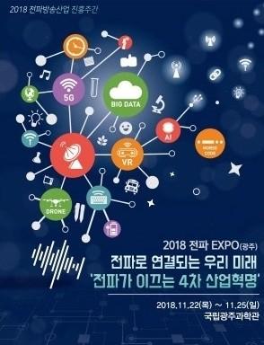 한국방송통신전파진흥원 '2018 전파EXPO' 11월 22일 열린다