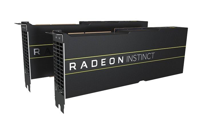 AMD 7nm GPU 라데온 인스팅트(Radeon Instinct) MI60 및 MI50 가속 카드