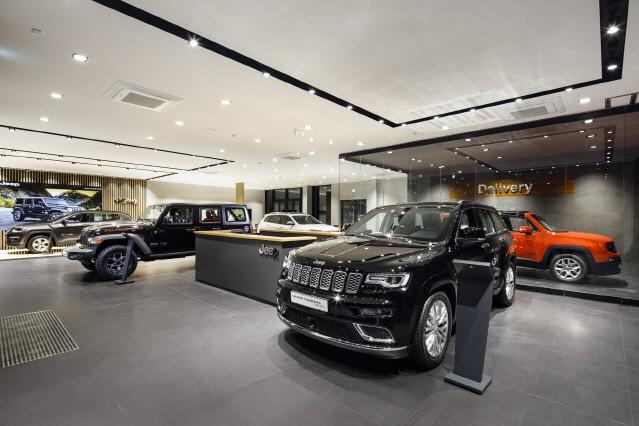 지프(Jeep), 제주 전용 전시장 오픈