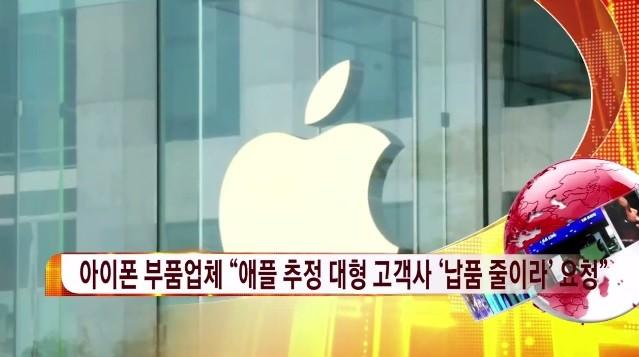애플 주가 '급락' 원인은? 아이폰 실적 부진