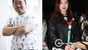 마동석 예정화, 공개 열애 2년 '여전히 뜨거운 ♥'