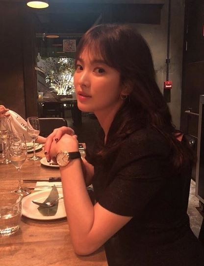 사진=송혜교 SNS
