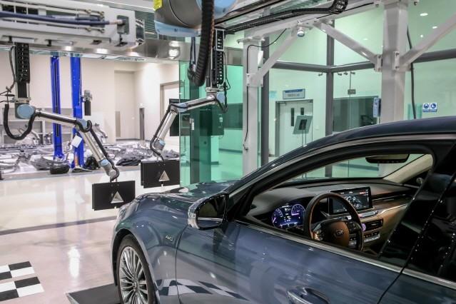 [영상] 현대·기아차, 전장 집중검사 시스템 세계 최초 개발
