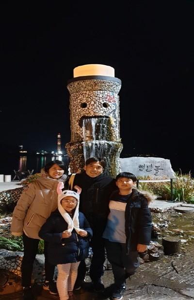 가족사진. 사진=김기환 제공