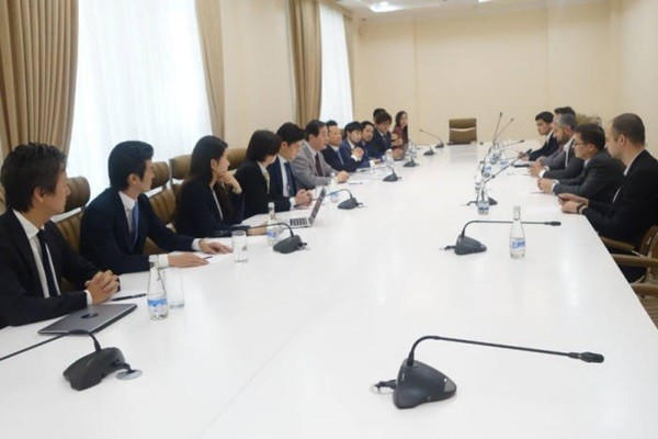 Representatives from top blockchain companies from Japan, Singapore, Hong Kong, and South Korea held a meeting with NAPM of Uzbekistan.