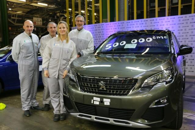 푸조 3008 SUV, 누적 생산 50만대 돌파
