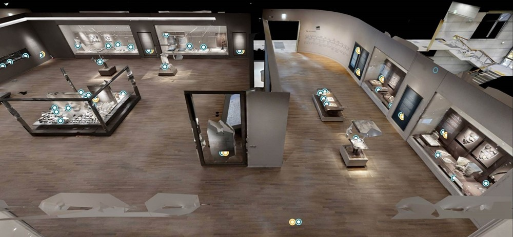 국립공주박물관의 VR이 구현된 디지털 박물관