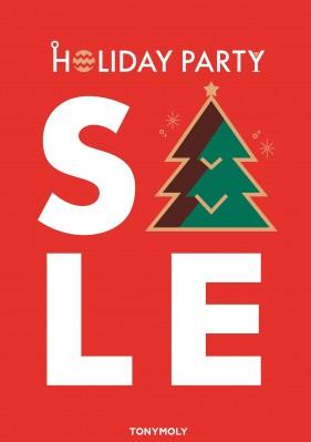 토니모리가 오는 12월 10일까지 최대 50%까지 할인하는 '홀리데이 빅 세일'을 실시한다. 사진=토니모리 제공