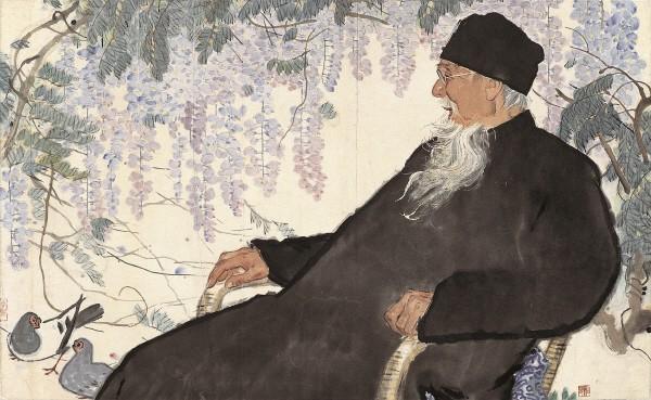 리후 '치바이스상, 1963, 중국국가미술관'. 사진=예술의전당 서예박물관 제공