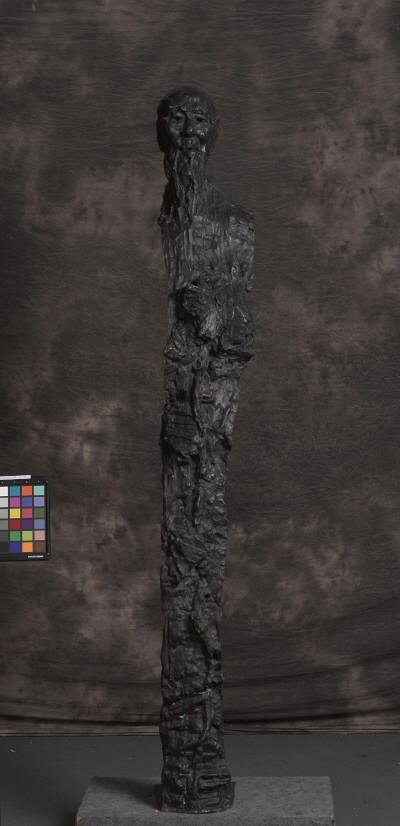 우웨이산 '닮음과닮지않음의 영혼 치바이스상, 31×25.5×188cm, 2004, 중국국가미술관'. 사진=예술의전당 서예박물관 제공