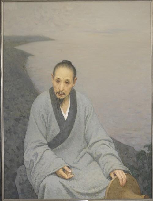 진상이 '팔대산인 초상, 132×100.5cm, 2006'. 사진=예술의전당 서예박물관 제공
